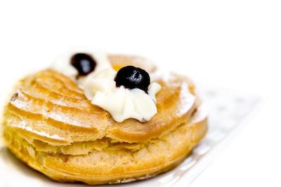round cookie pancake zoom background