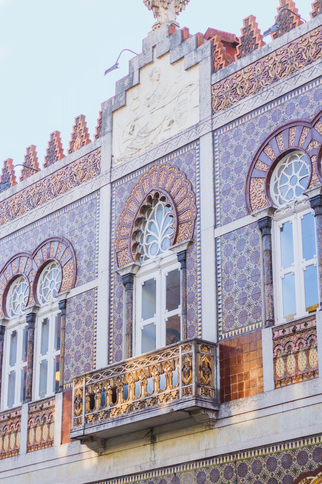 Building Detail in Porto, Portugal