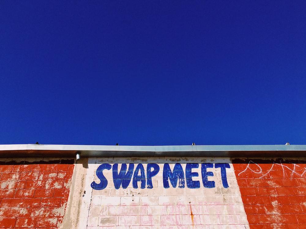 Swap Meet text