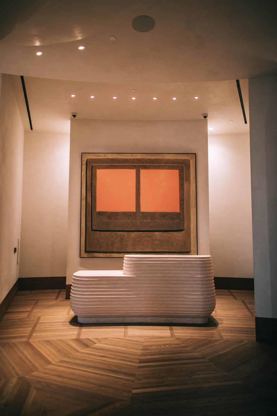 The gorgeous lobby of the Santa Monica Proper Hotel. Designed by Kelly Wearstler.