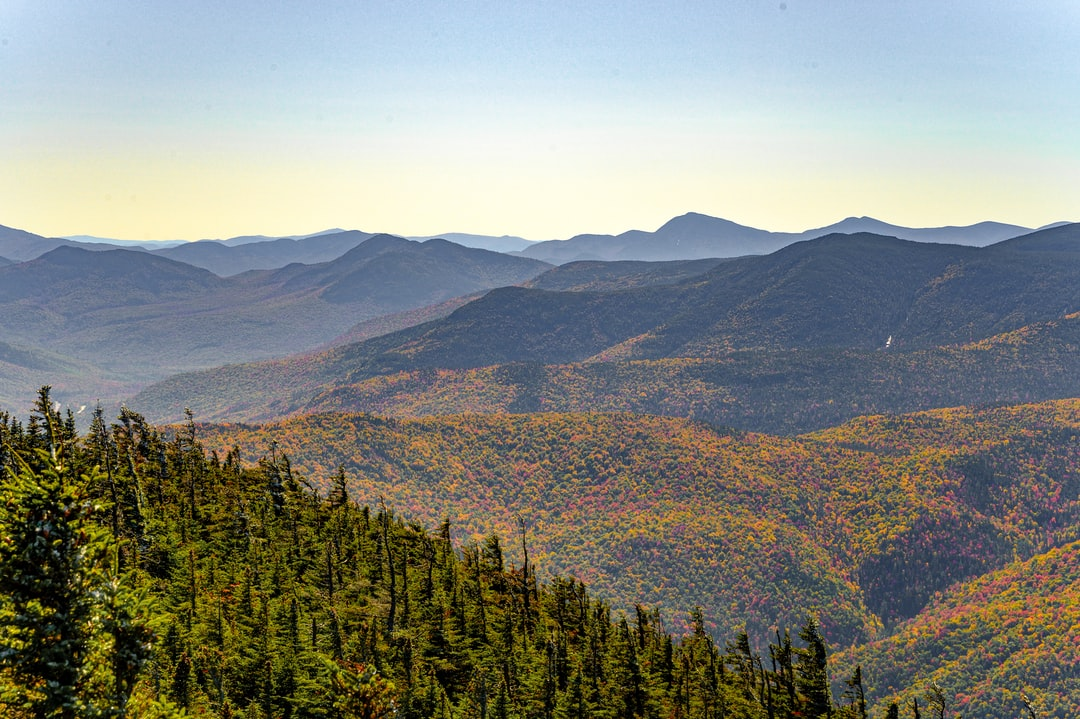 White Mountains in the Fall