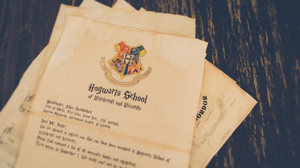 Hogwarts School of Witchcraft and Wizardry letters