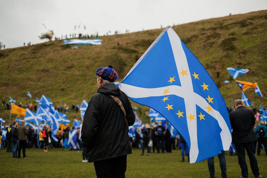 Over 200,000 people marched in the All Under One Banner movement to support Scottish Independence