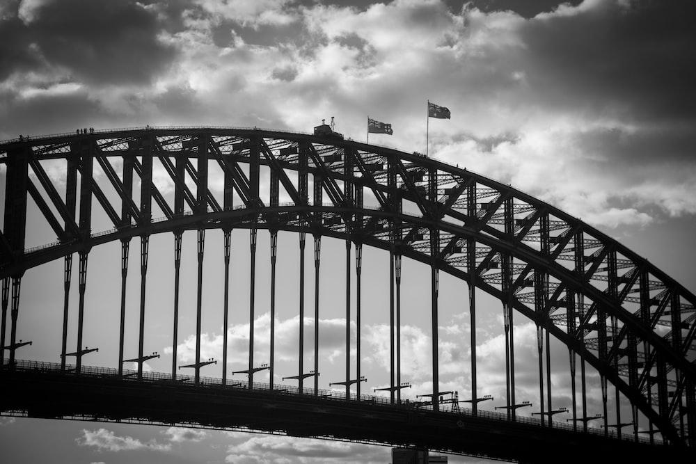 arch metal bridge