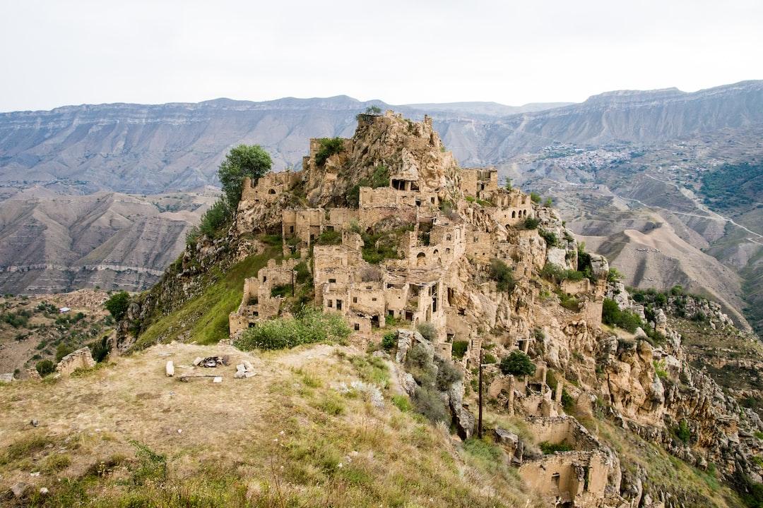 Gamsutl Village, now abandoned