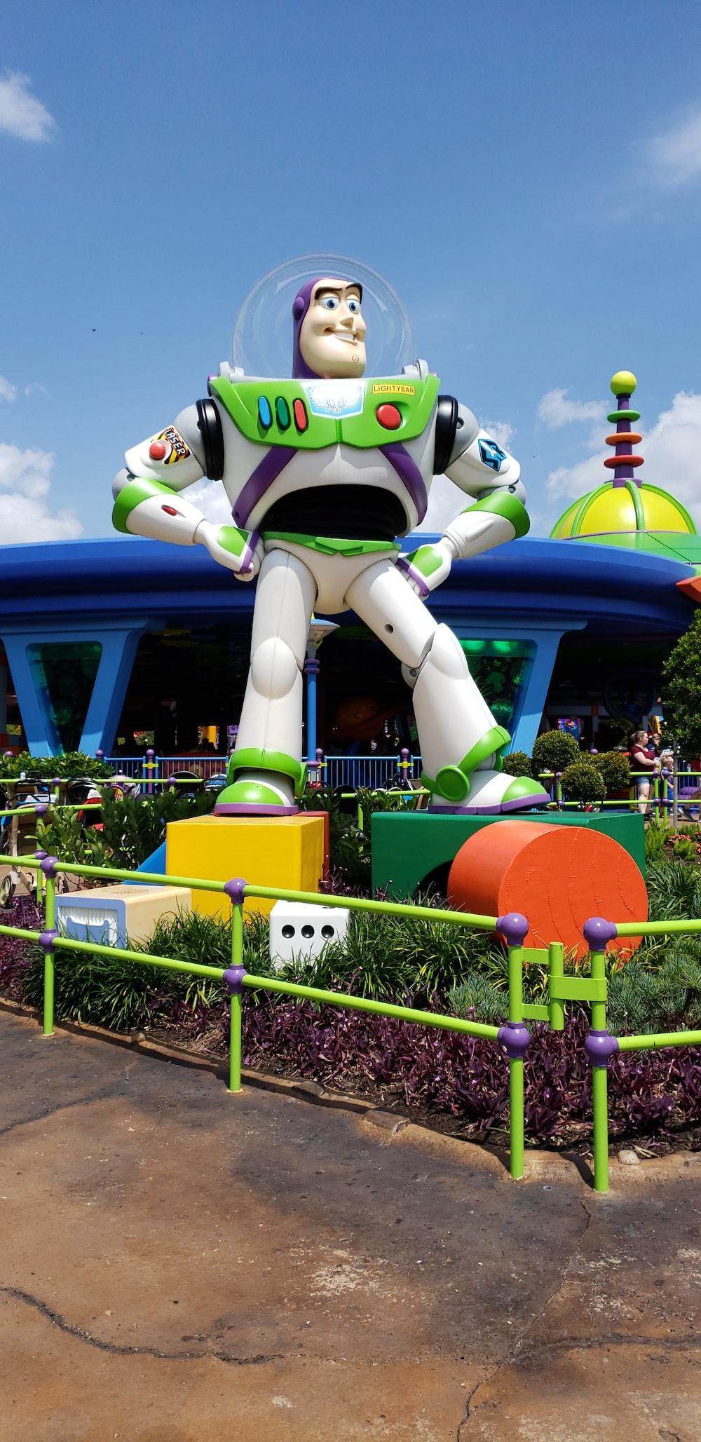 Buzz Lightyear statue