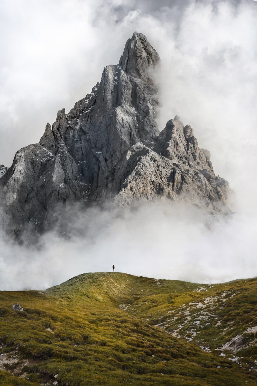 gray mountain during daytime photo