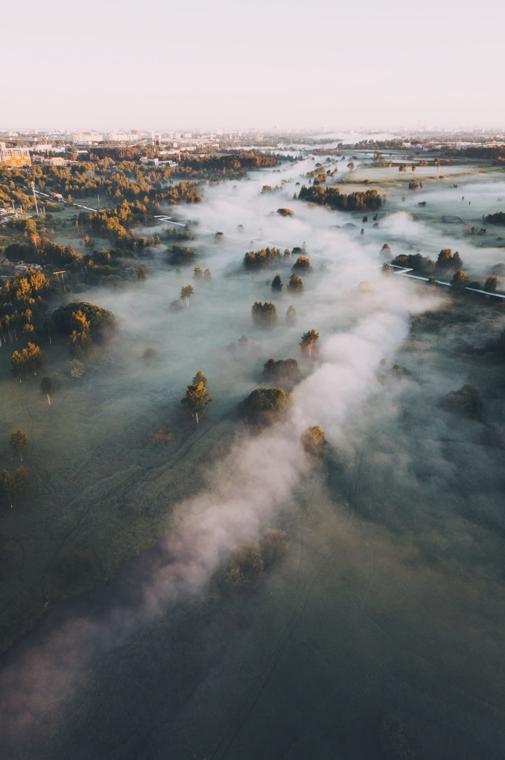 sea of clouds photo