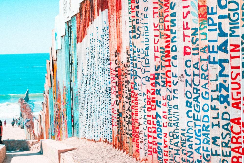 multicolored wall