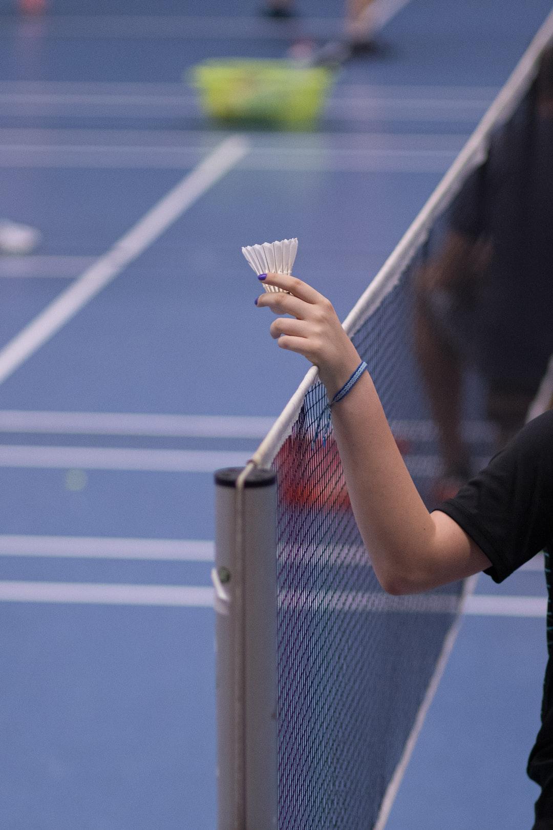 Symbolic Badminton-Picture