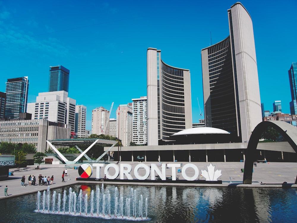 Toronto Canada near buildings