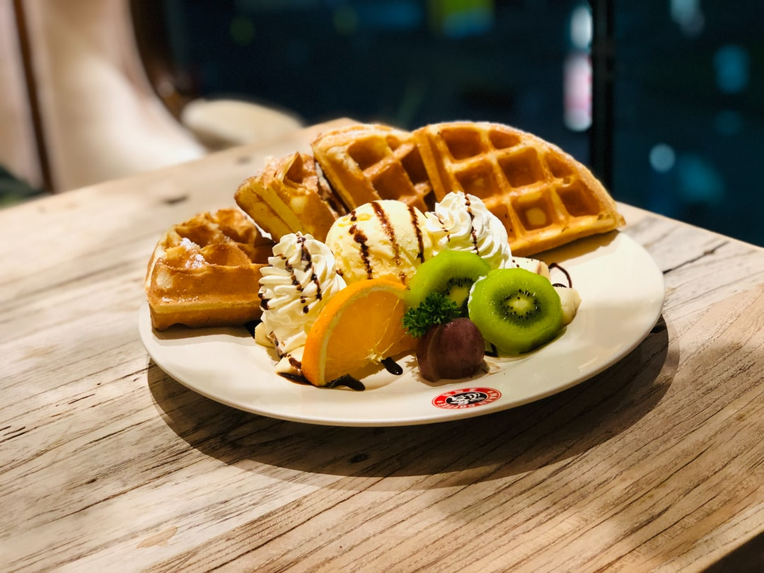 You should eat a Waffle! You can't be sad if you eat a Waffle.