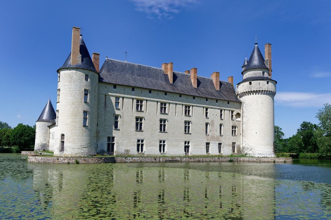 The Château du Plessis-Bourré in the Loire Valley region of France.  A spectacular moated castle  dating back to 1473 and largely unchanged since that time.  For more information go to https://www.loirevalley.guide