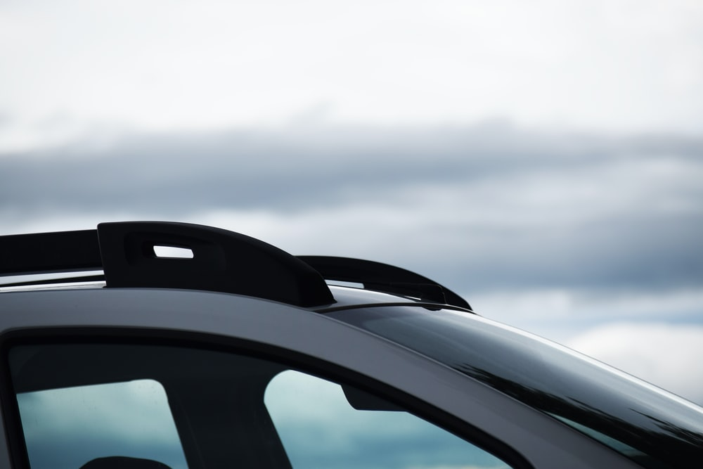car with roof rack