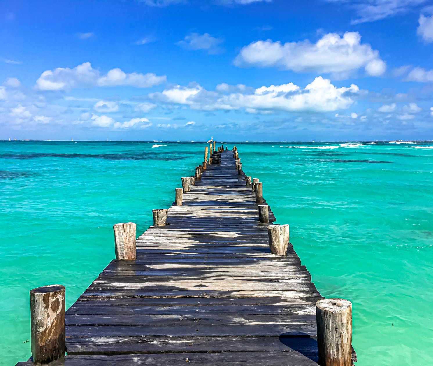 dock in cancun, mexico