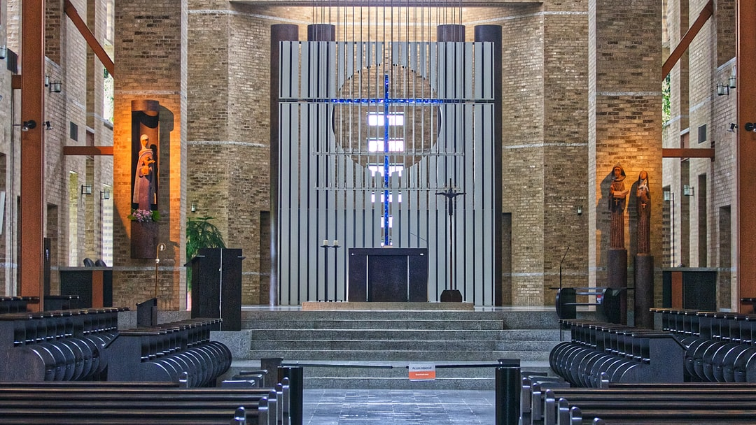 Le cœur de la paroisse de l'abbaye de Saint Benoit Du Lac.