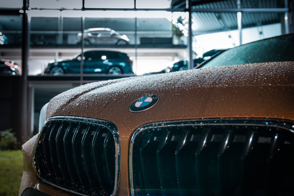 brown and silver bmw car