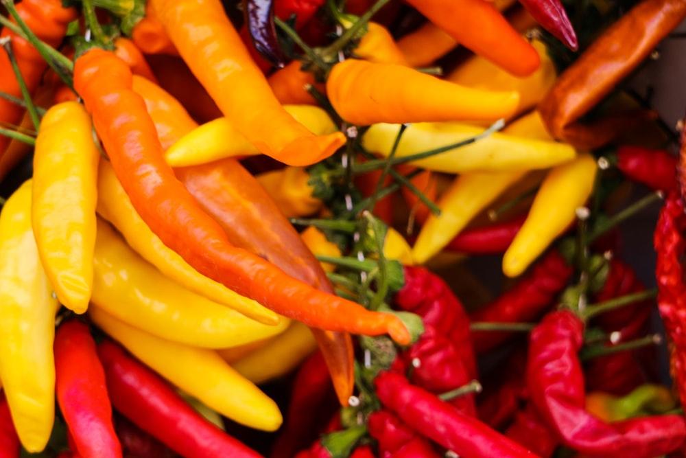 pile of chilis