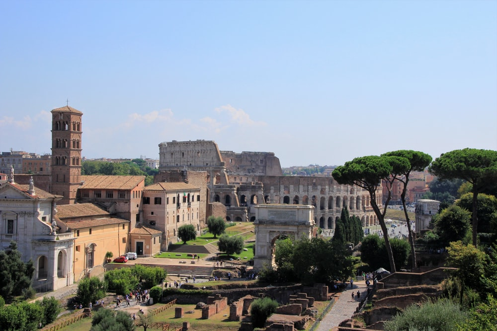 The Colleseum, Italy