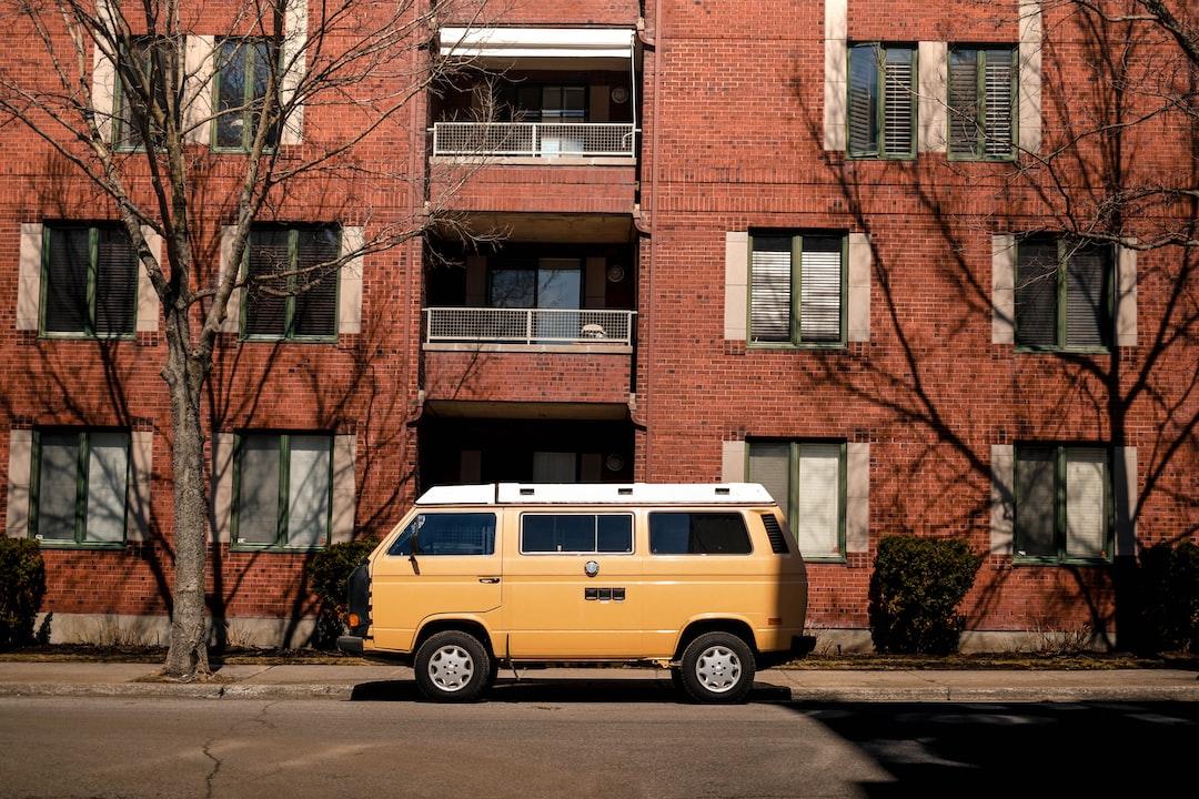 Old school yellow combi