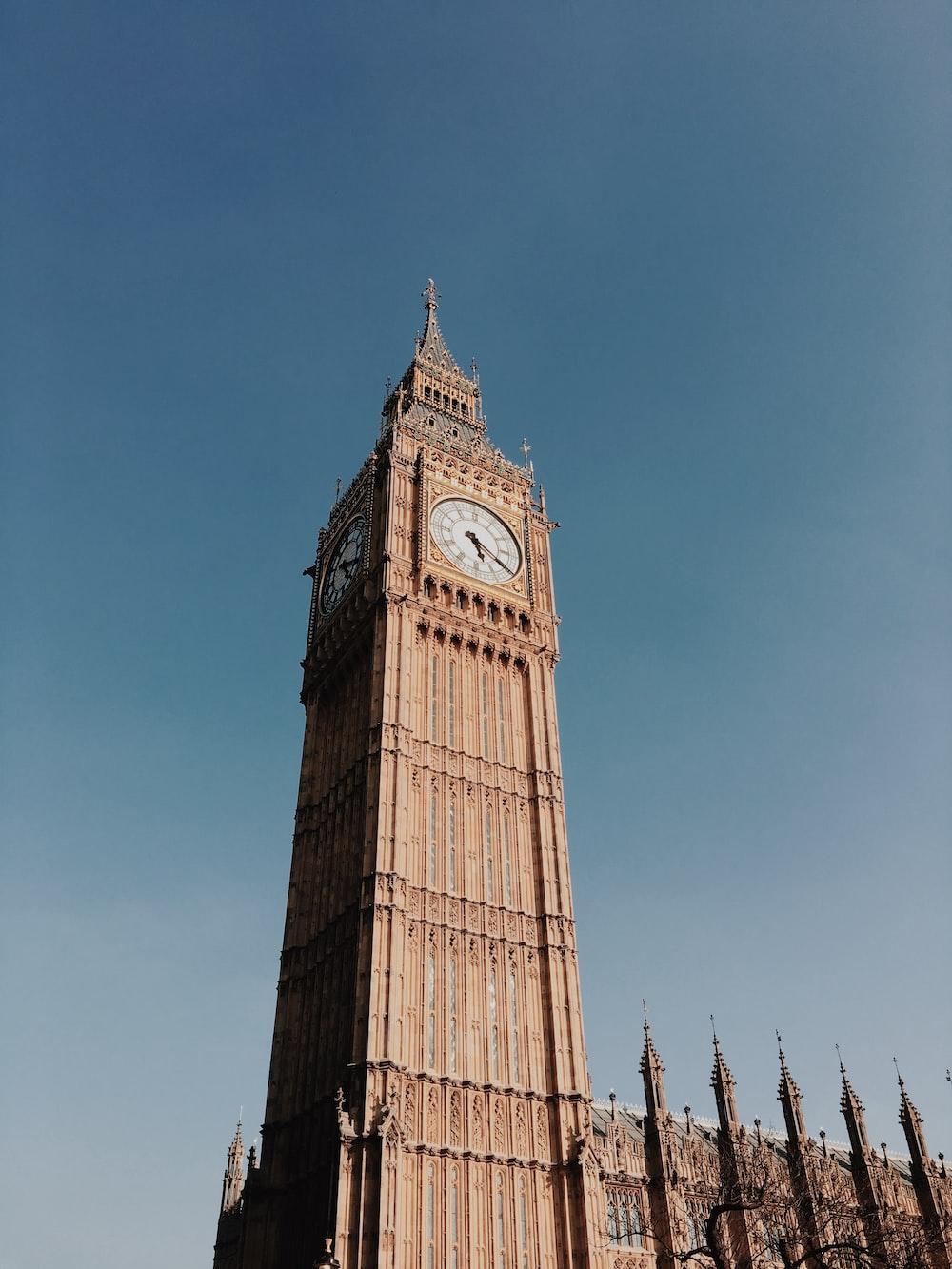 Big Ben, London during day