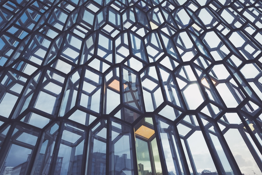 glass panel building windows