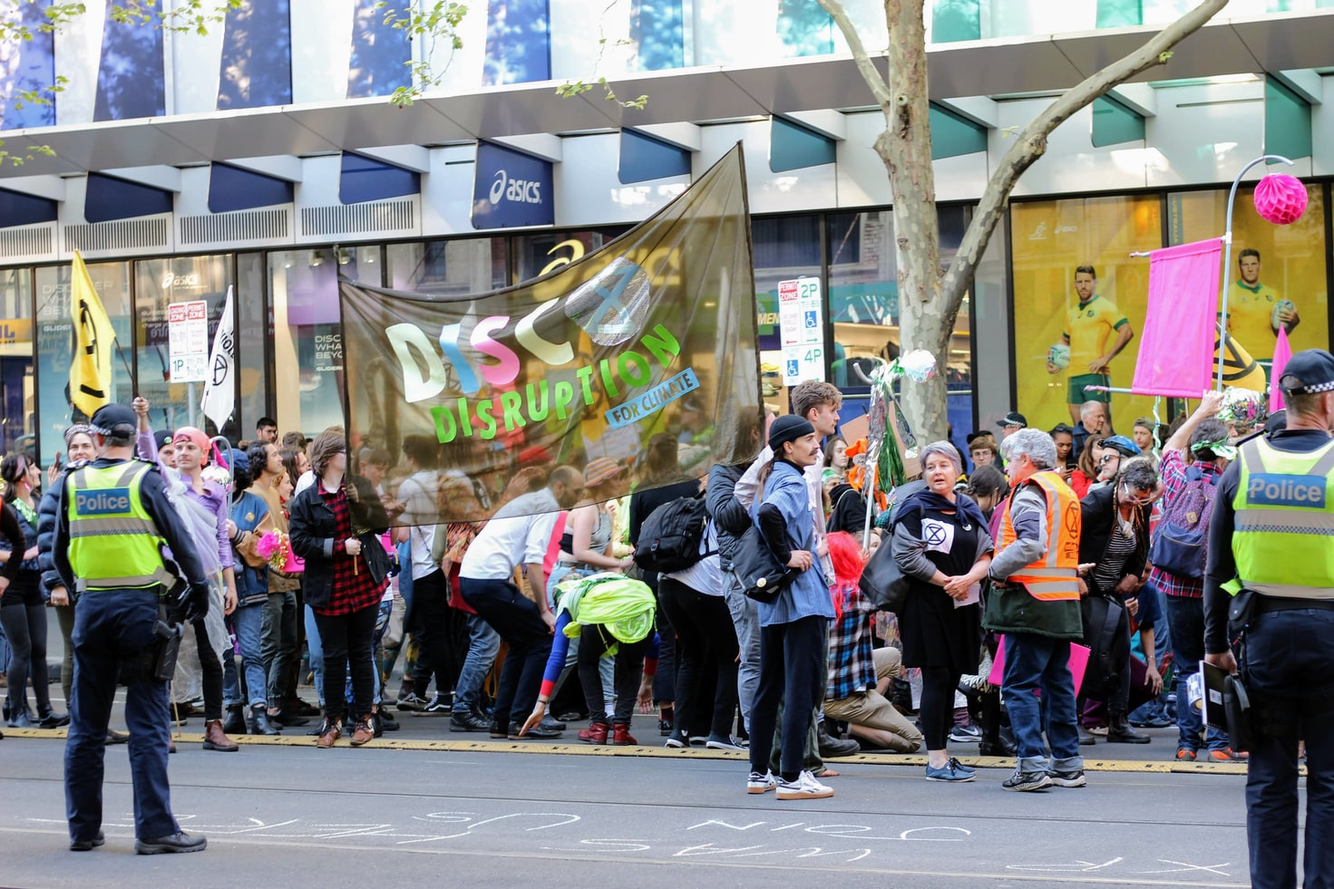 Climate Protests in Melbourne
