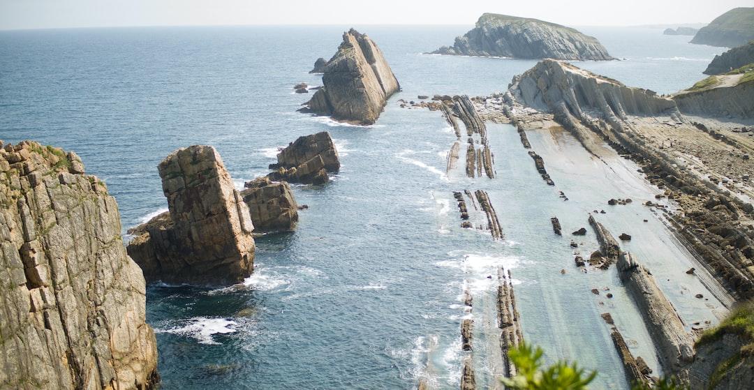 Flysch Liencres, Cantabrian Sea.