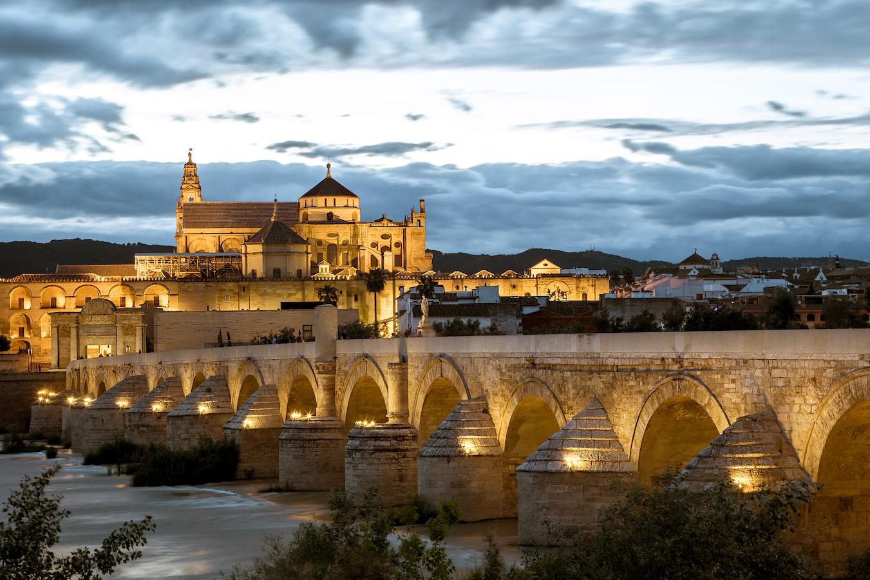 a castle in Cordoba, Spain