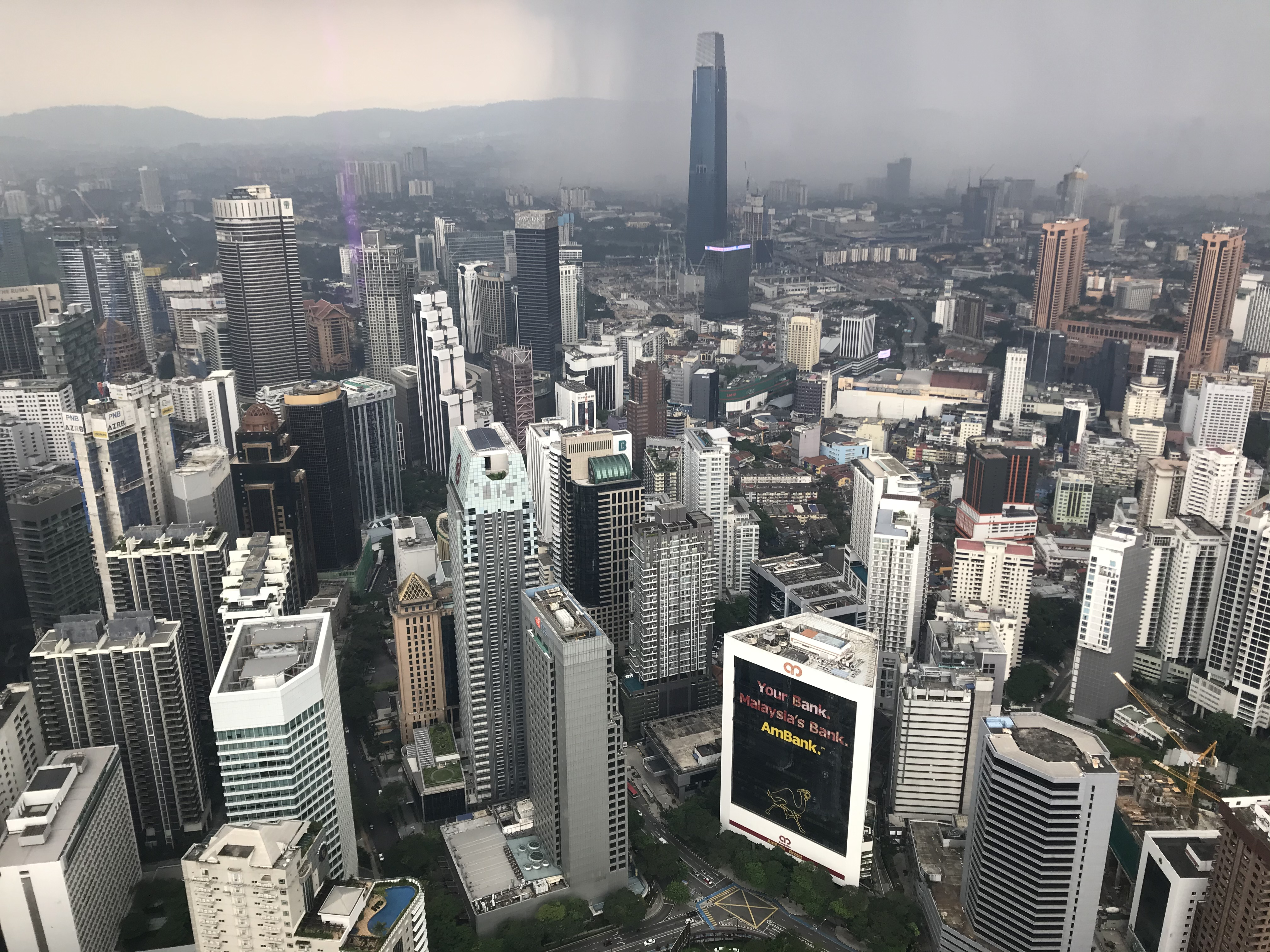 Kuala Lumpur was ranked 10th among cities to have most buildings above 100 metres with a combined height of 34,035 metres from its 244 high rise buildings[1]. As of 2019, the city of Kuala Lumpur has over 1,900[2] completed high-rises building, of which over 700 are buildings standing taller than 100 m (328 ft); 170 buildings over 150 m (492 ft), 42 buildings over 200 m (656 ft) and 5 buildings over 300 m (984 ft), the majority of it being located in the KLCC, Golden Triangle, Mont' Kiara and Old Downtown[3]. The tallest building in Kuala Lumpur is Petronas Twin Towers were the tallestbuilding