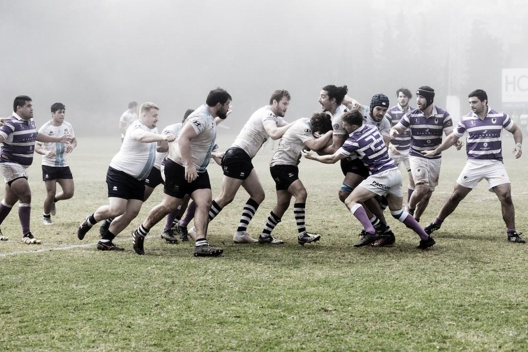 Partido de rugby jugado el 06-10-2019 en el Bahía's Park de Marbella, en algunos momentos bajo una densa niebla, entre los equipos Andalucía Bulls Marbella Rugby Club y el C.A.U. Madrid Rugby.