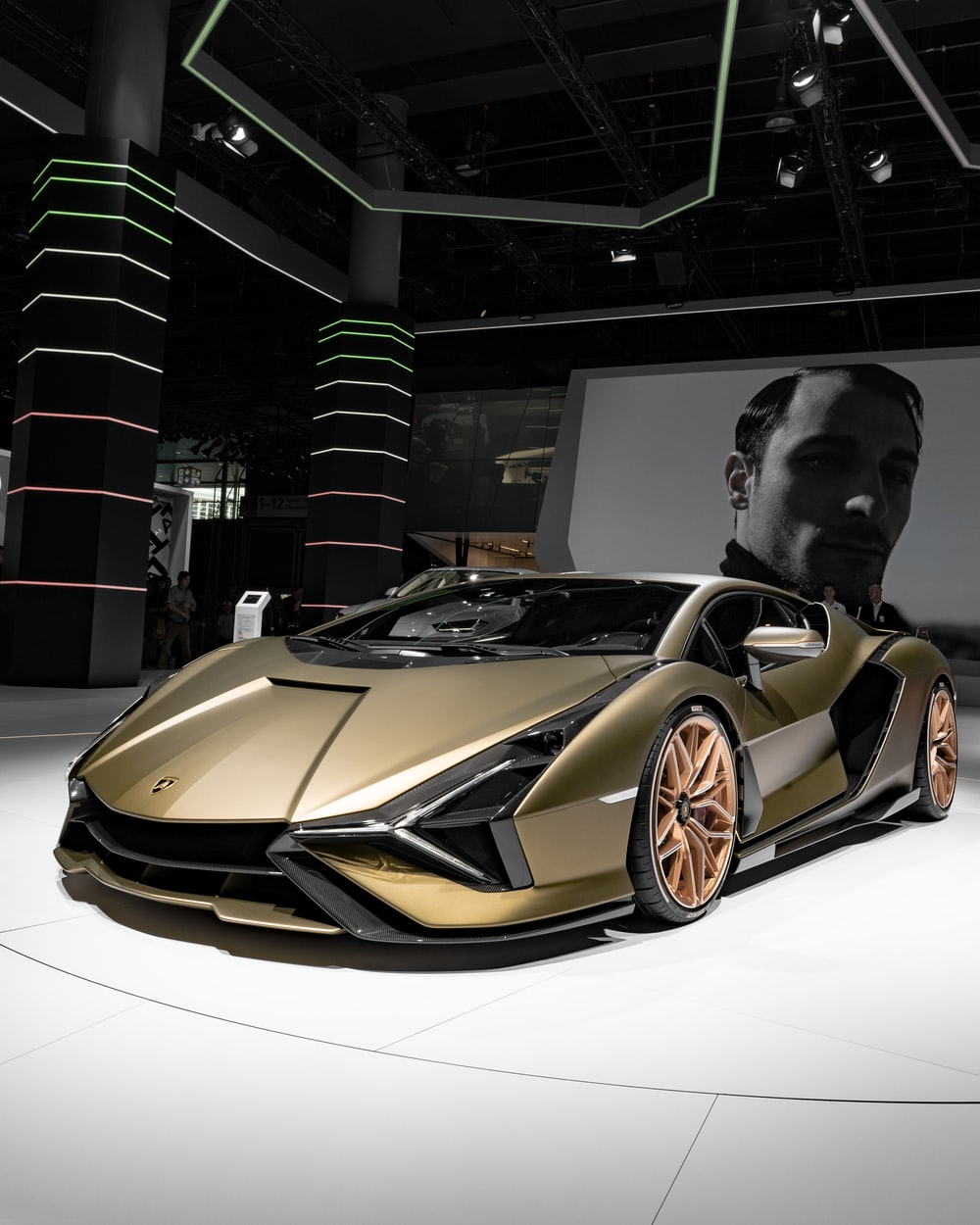 gray luxury car