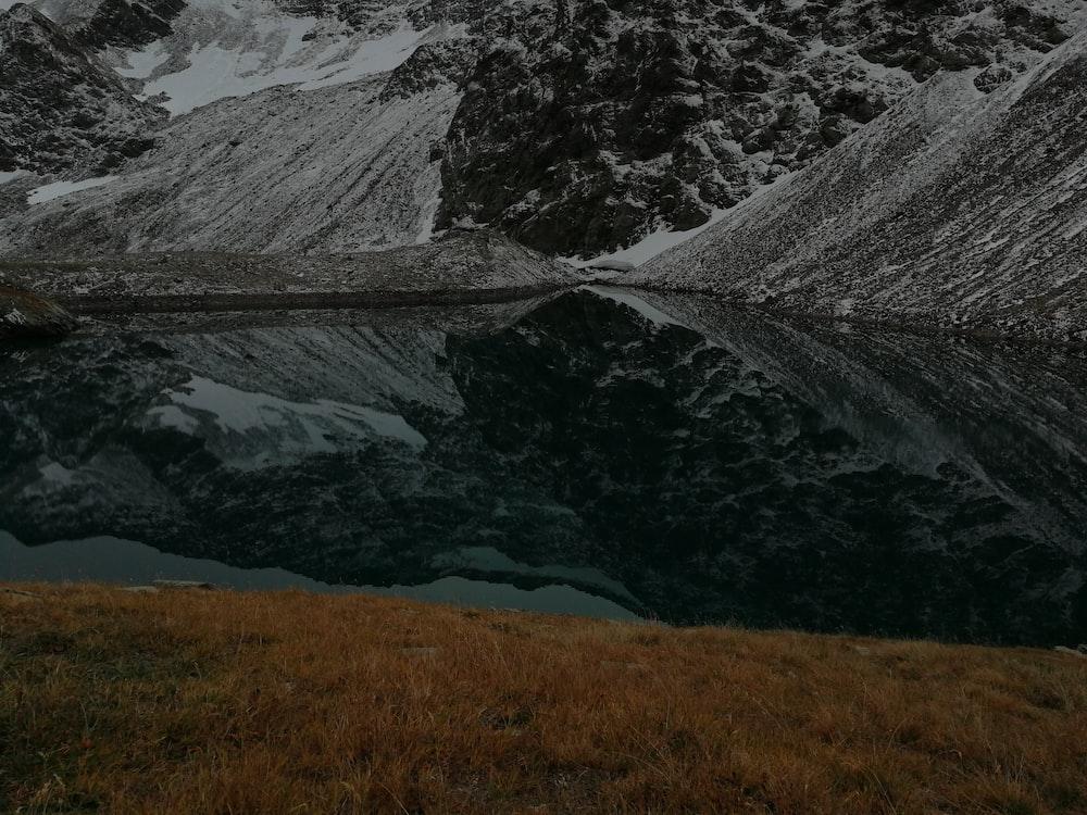 mountain and lake scenery