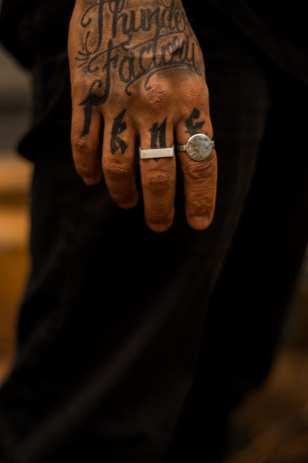 Finger Tattoos are always in style