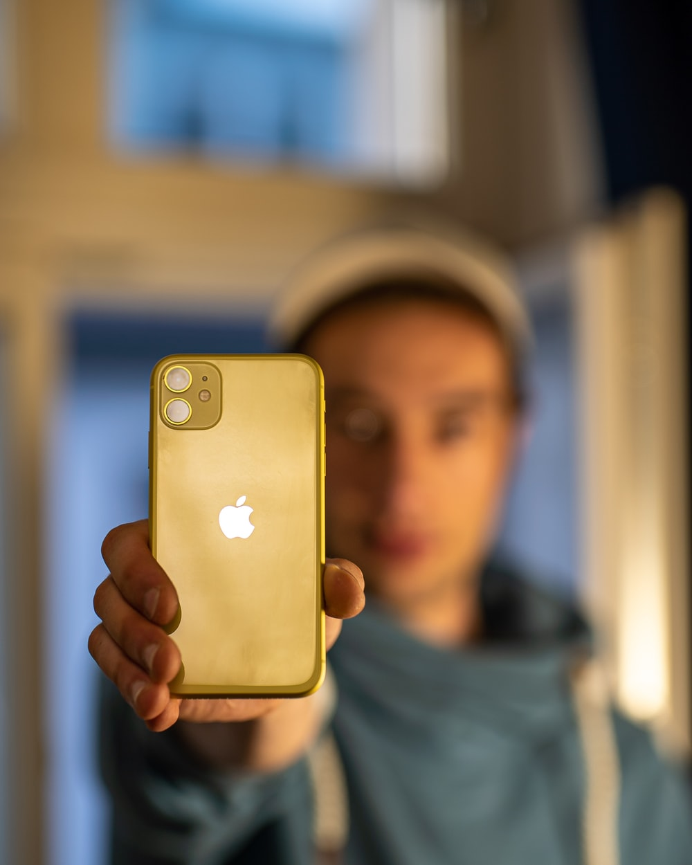 gold iPhone 11