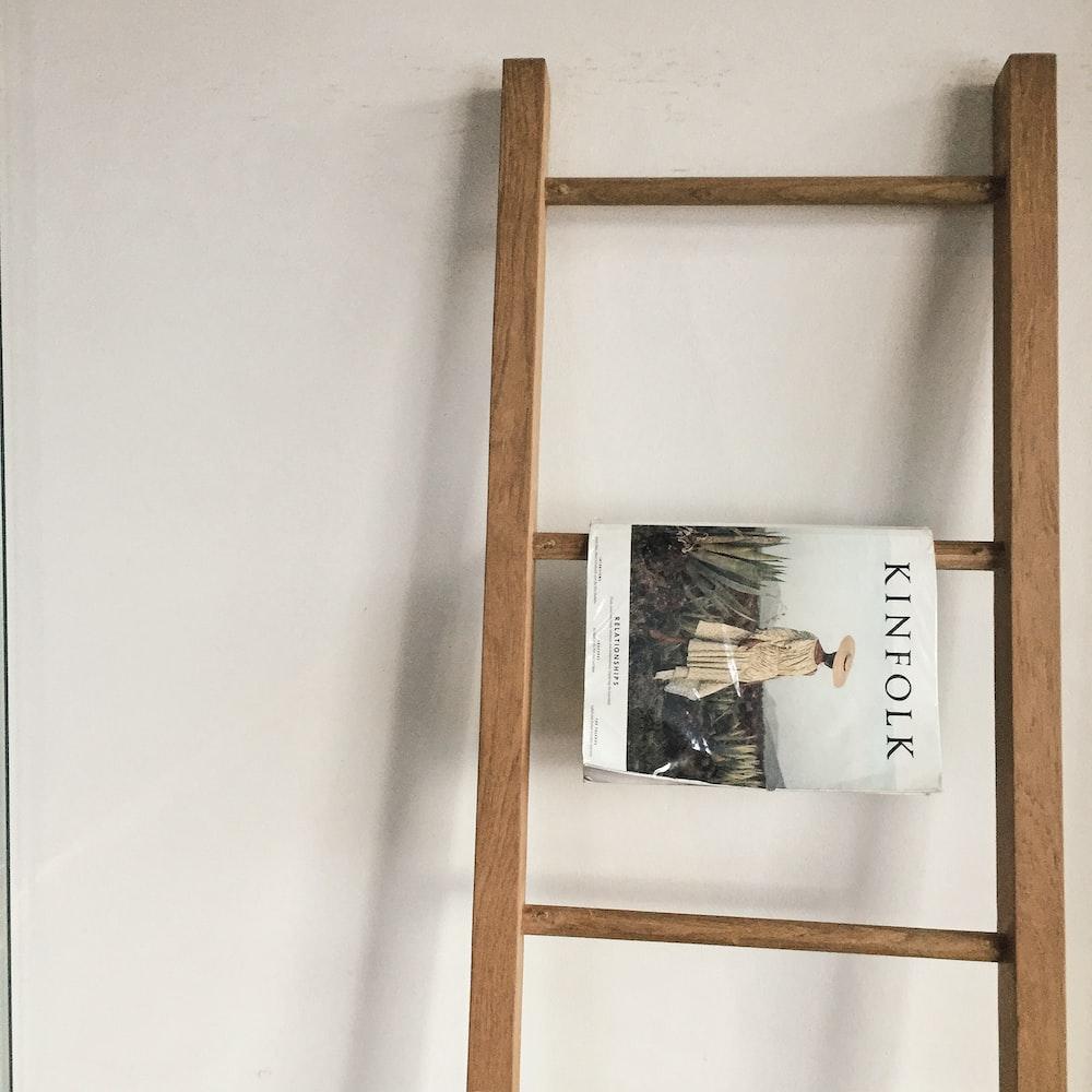 Kinflolk magazine on rack