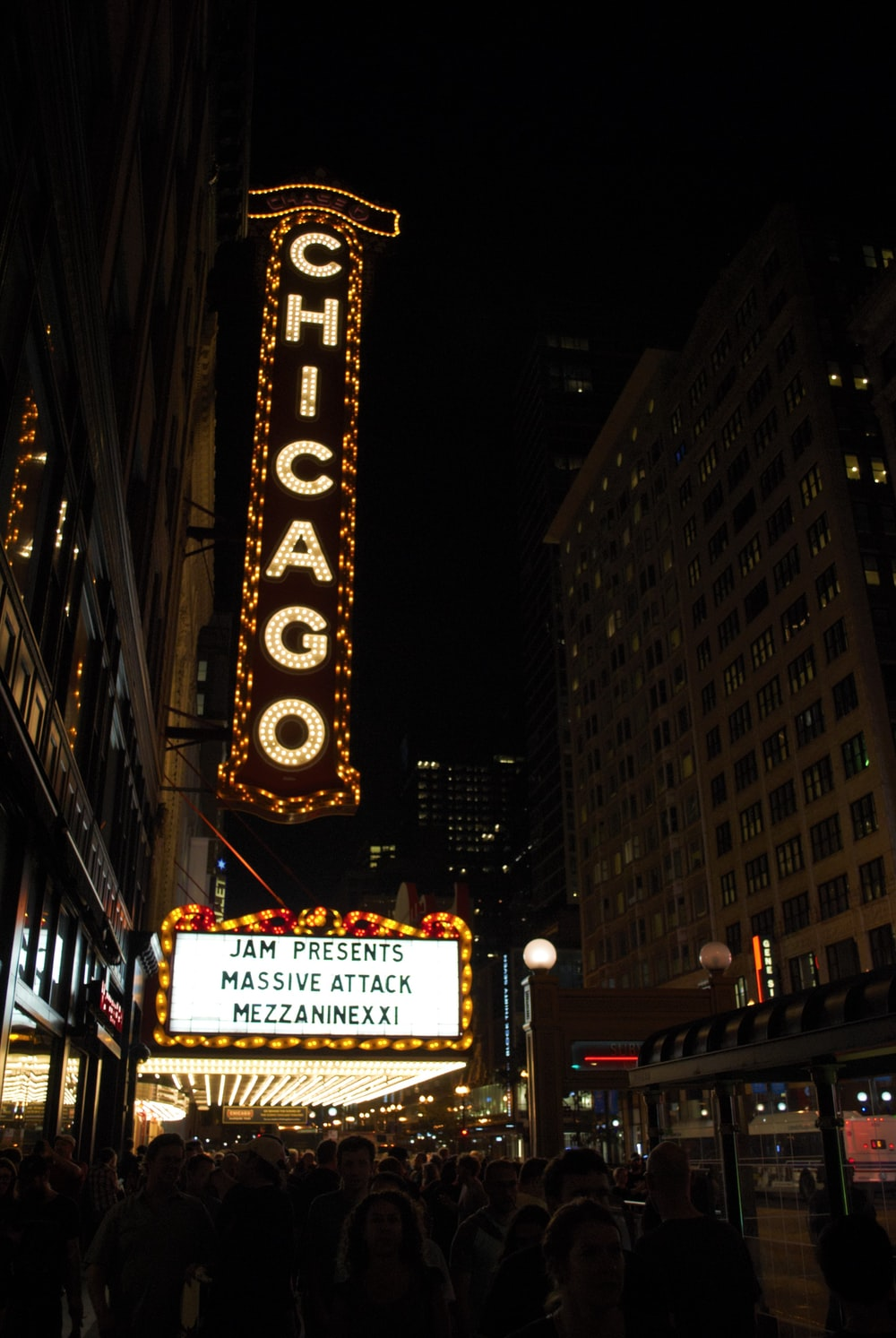 Chicago signage on wall