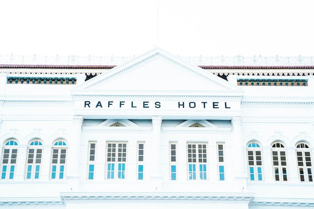 Raffles Hotel building