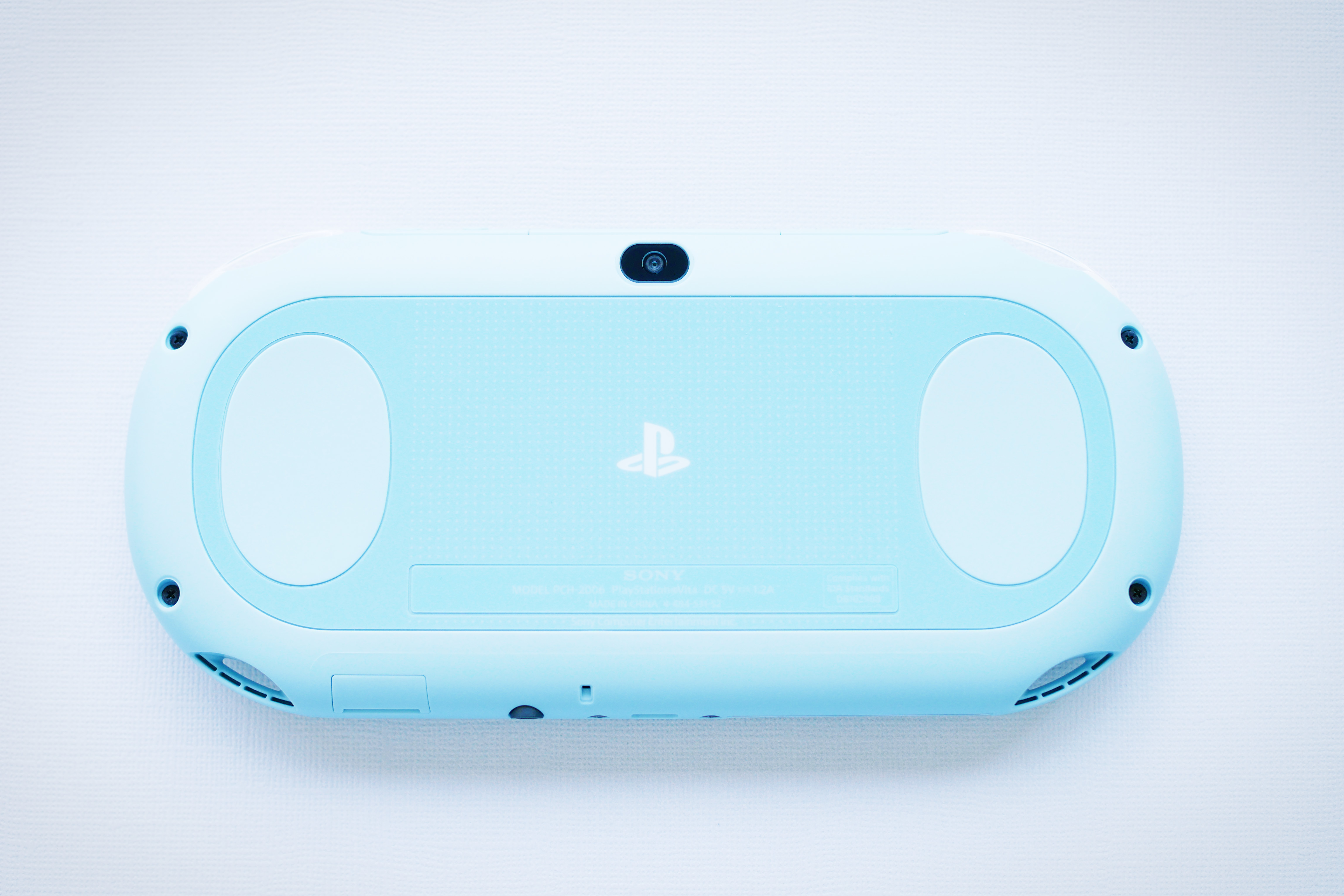 Sony PlayStation Vita Blue Back