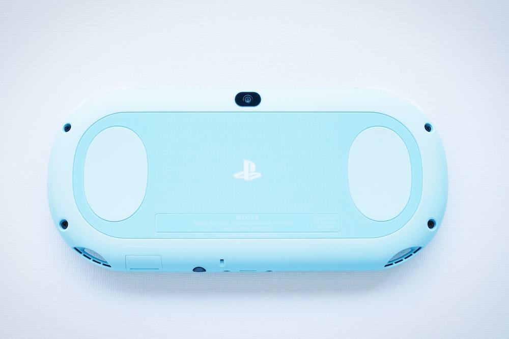 blue PSP toy