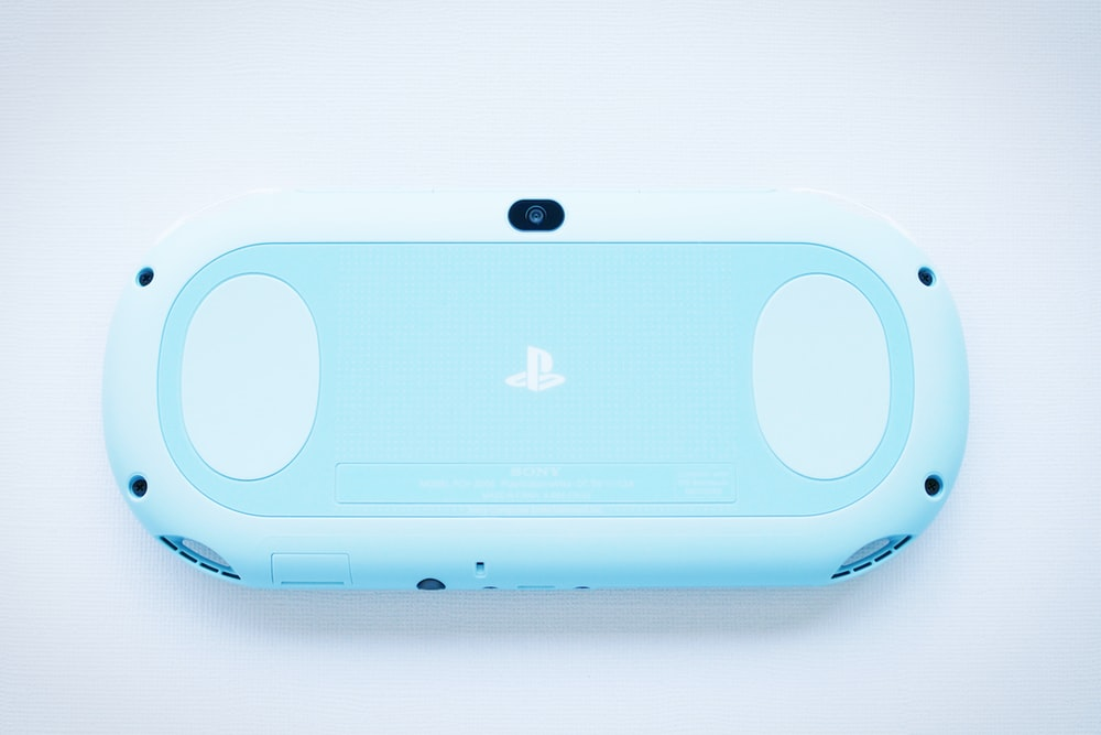 blue PSP toy