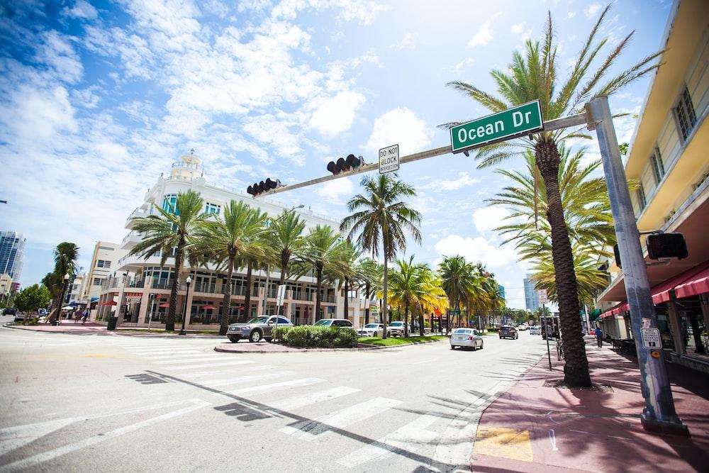 Ocean Drive Miami Beach Floride états Unis Pictures