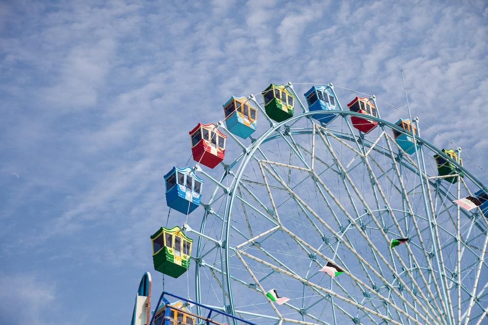 multicolored ferris wheel