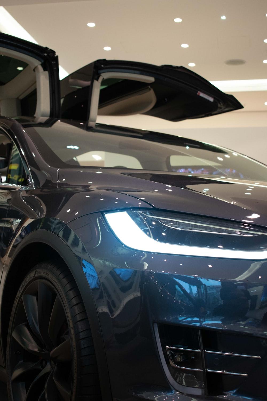 gray car photo