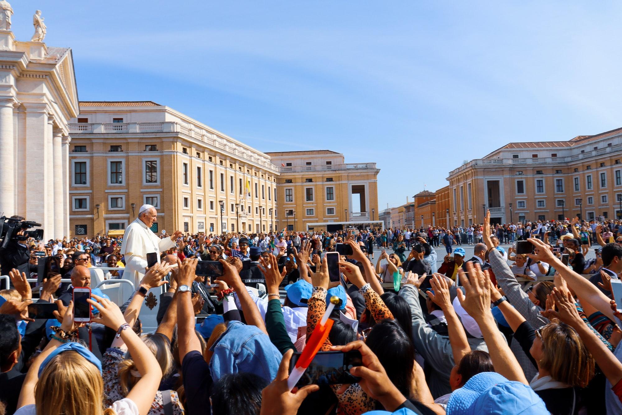 Pope Frances - Basilica di San Pietro, Vatican City
