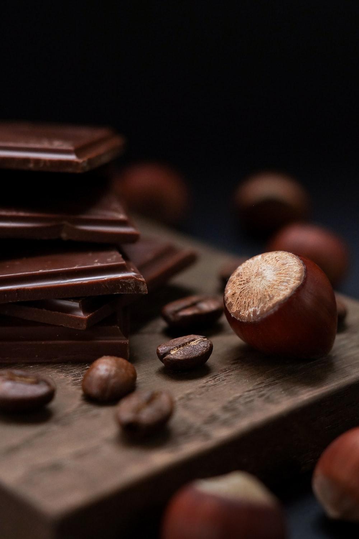 cocoa near chocolate
