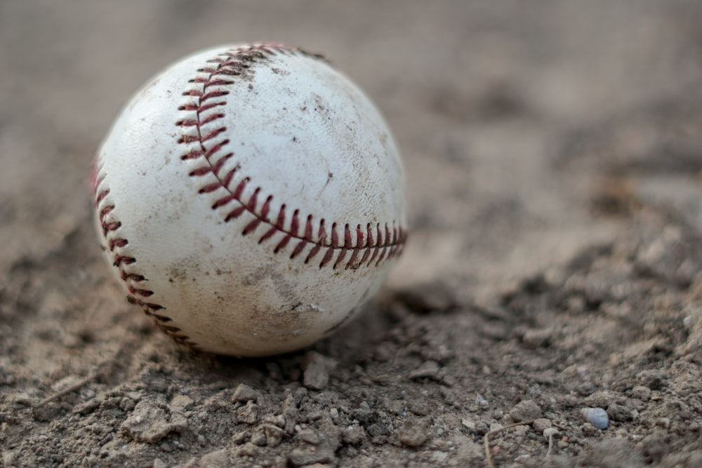 softball on land