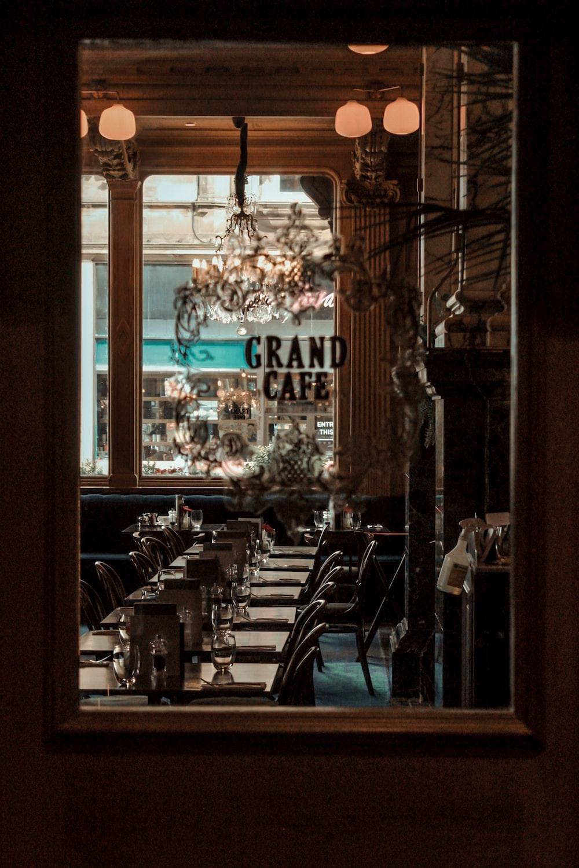 Grand Cafe interior at daytime