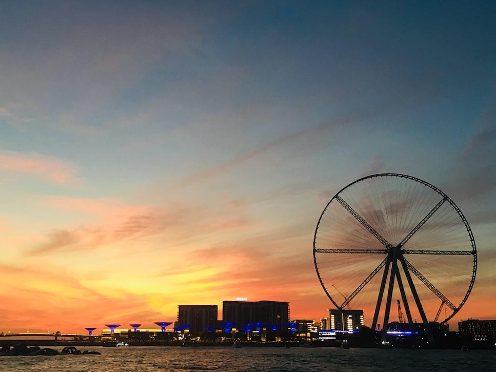 Ferris wheel Dubai