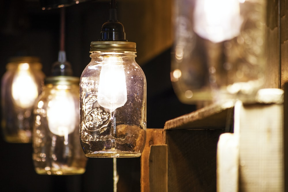 mason jar light bulbs